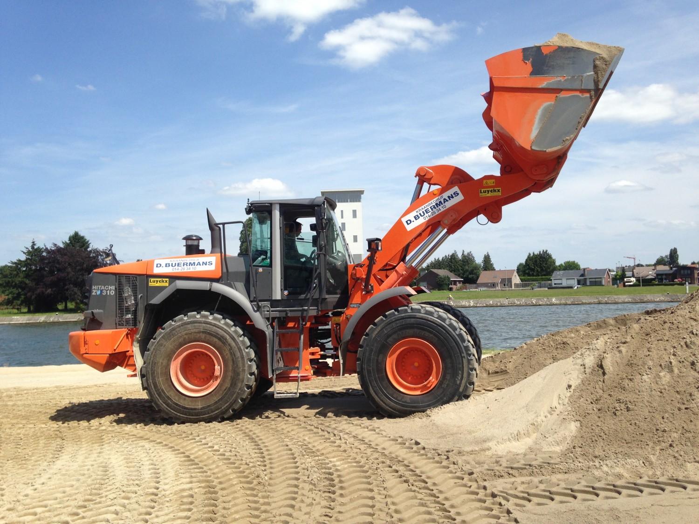 Nieuwe bulldozer in Beringen